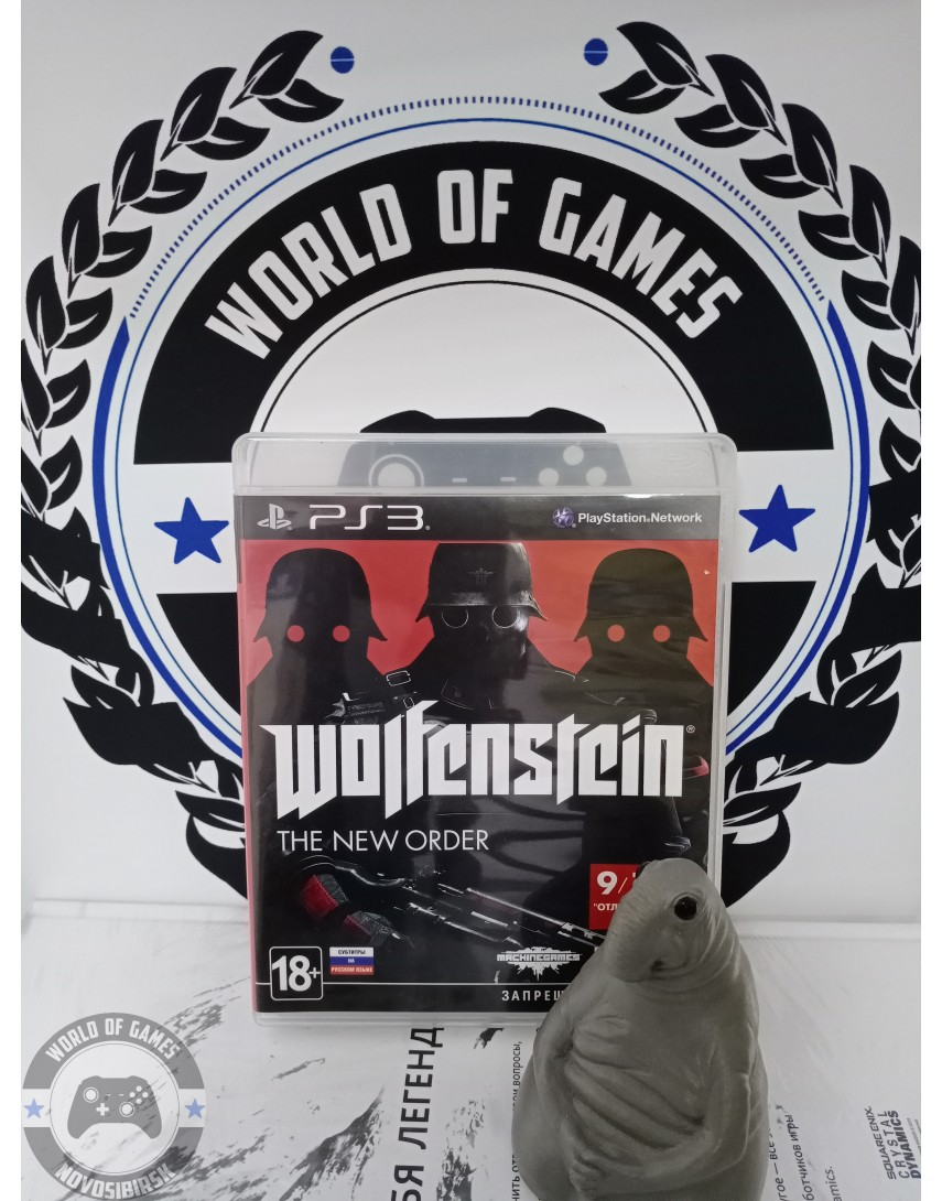 Wolfenstein The New Order [PS3]