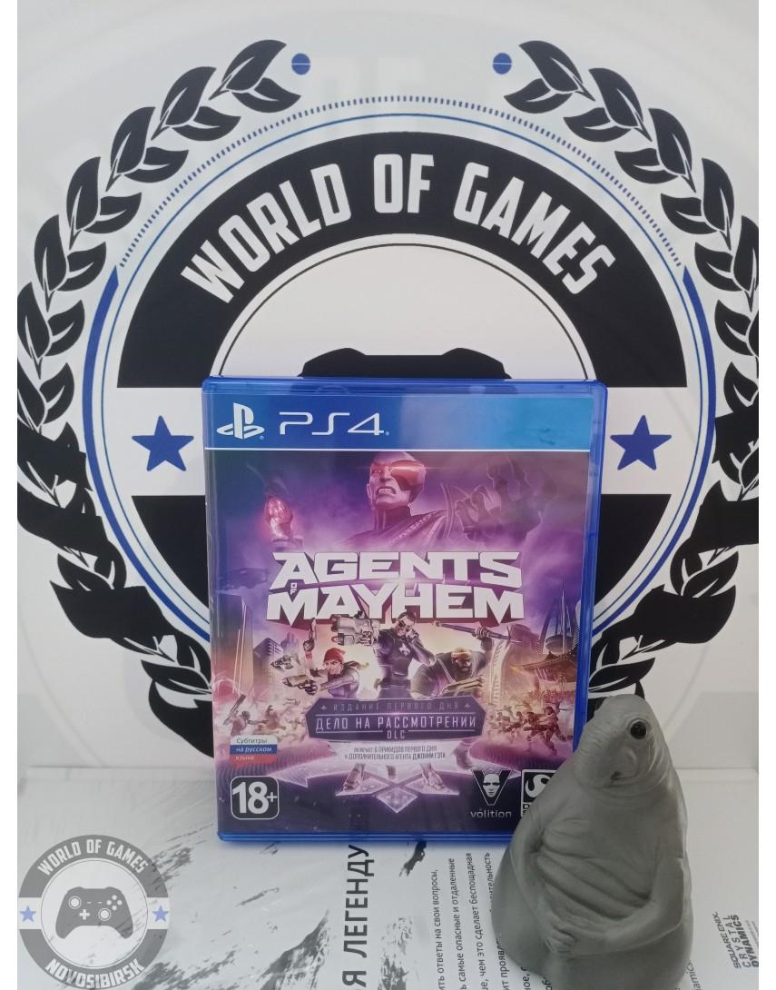 Купить Agents of Mayhem [PS4] в Новосибирске