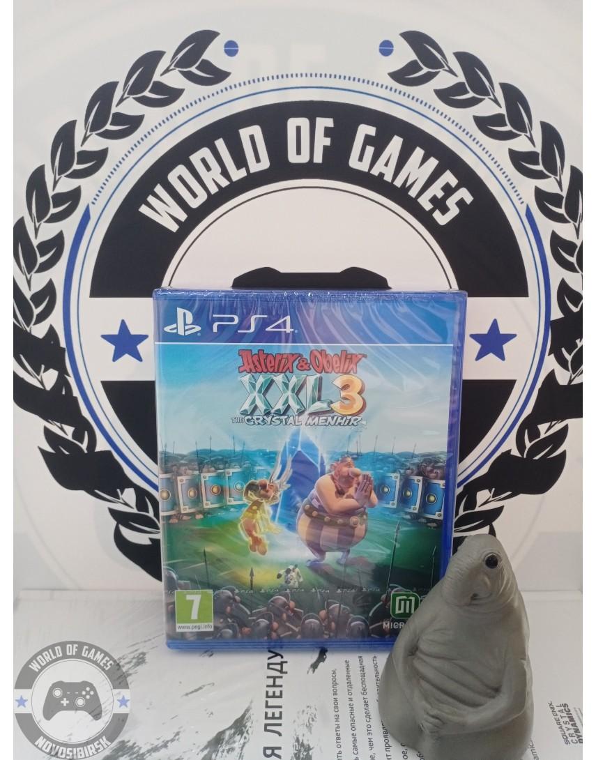 Купить Asterix & Obelix XXL 3 - The Crystal Menhir [PS4] в Новосибирске