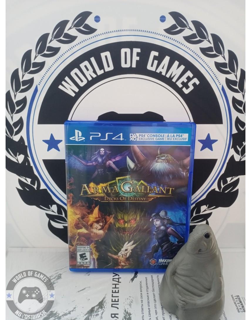 ArmaGallant Decks of Destiny [PS4]