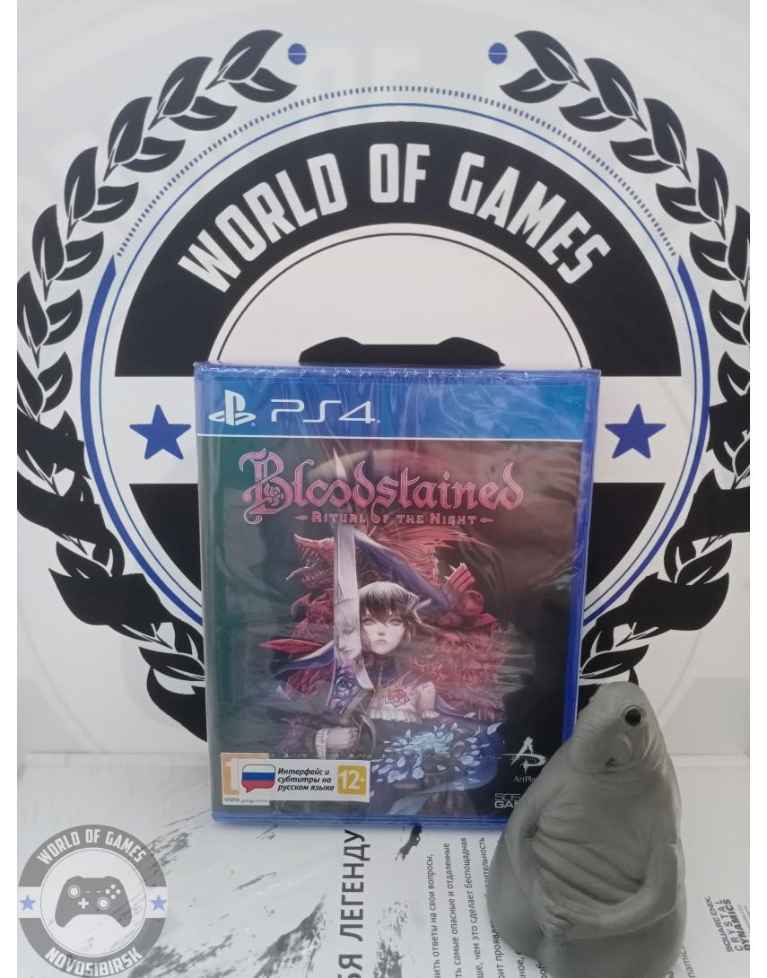 Купить Bloodstained Ritual of the Night [PS4] в Новосибирске