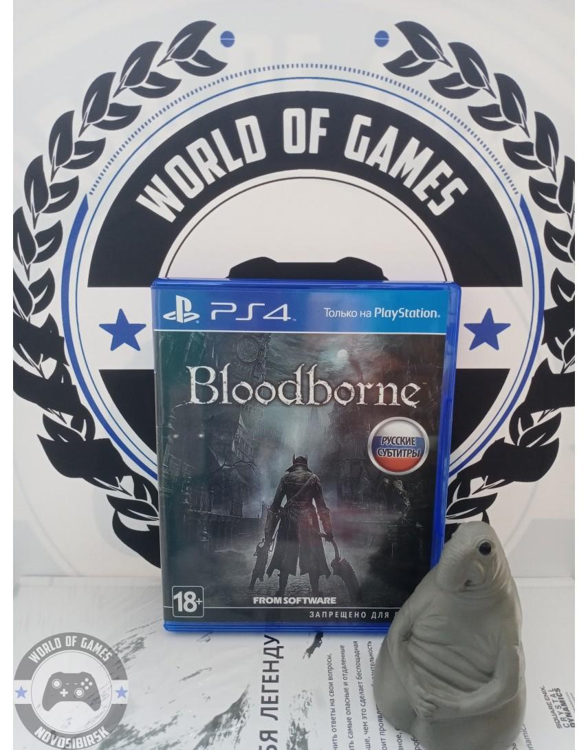 Купить Bloodborne [PS4] в Новосибирске