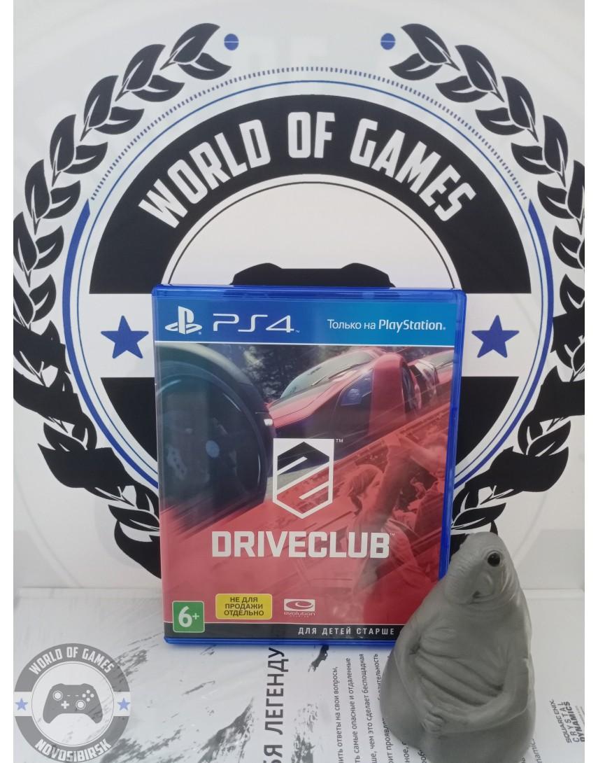 Купить Driveclub [PS4] в Новосибирске