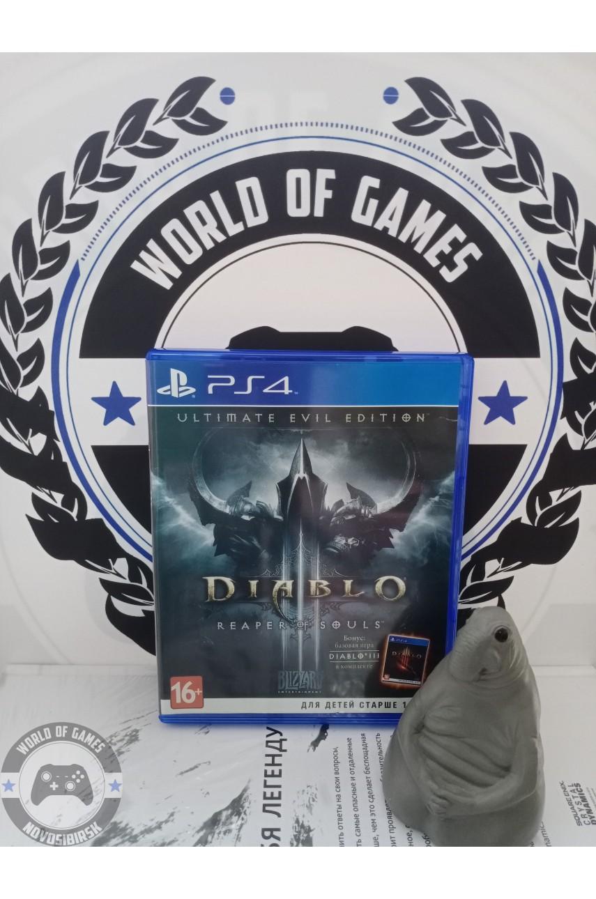 Diablo 3 Reaper of Souls [PS4]