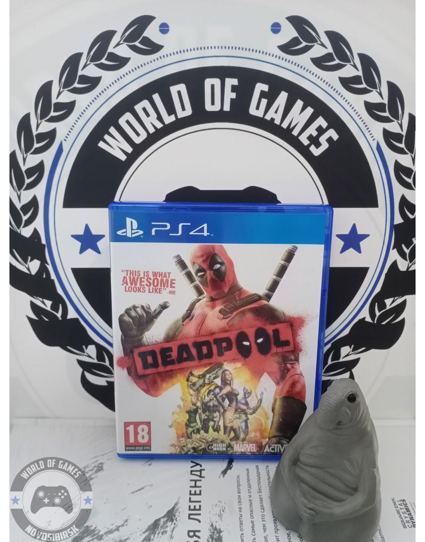 Купить Deadpool The Game [PS4] в Новосибирске