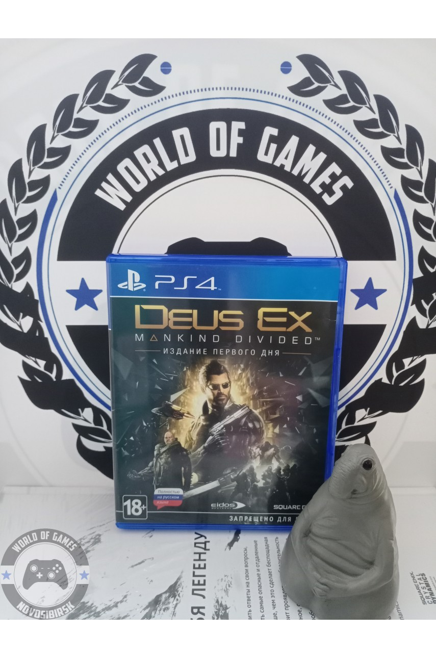 Deus Ex Mankind Divided [PS4]