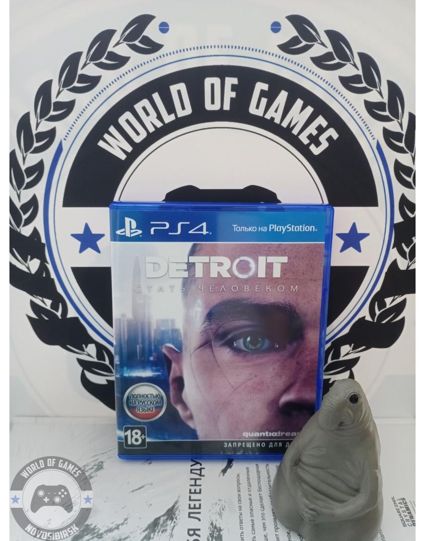 Купить Detroit Стать Человеком [PS4] в Новосибирске