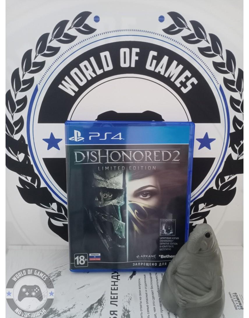 Купить Dishonored 2 [PS4] в Новосибирске