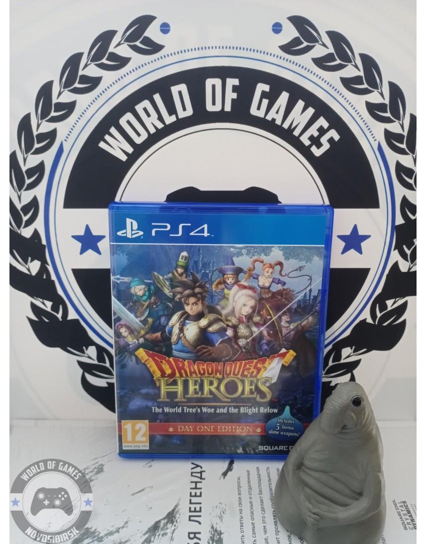 Купить Dragon Quest Heroes The World Tree's Woe and the Blight Below [PS4] в Новосибирске