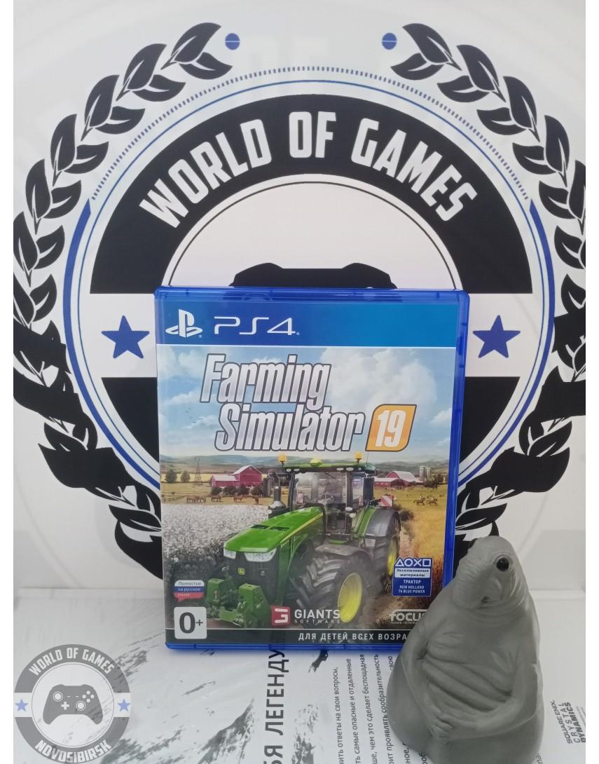 Купить Farming Simulator 19 [PS4] в Новосибирске