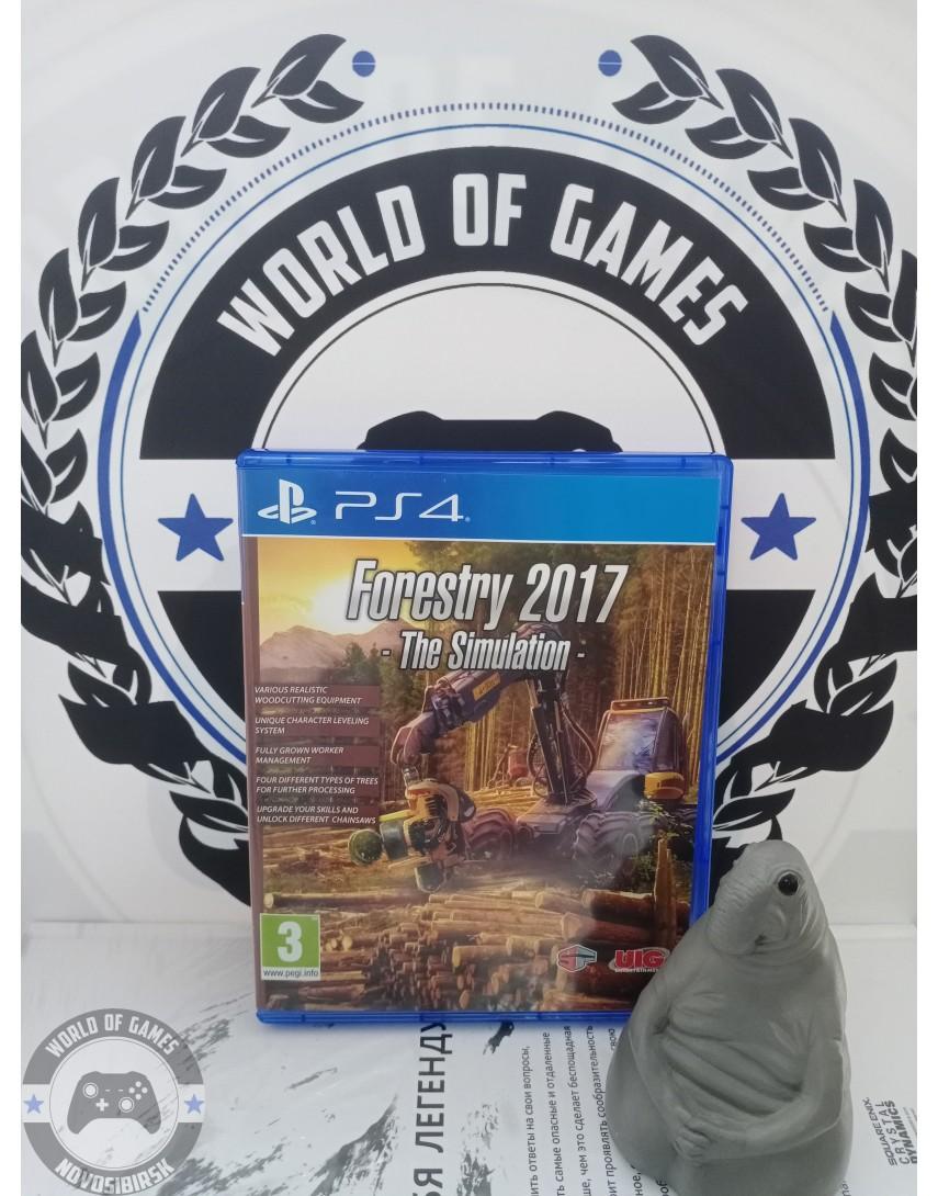 Купить Forestry 2017 - The Simulation [PS4] в Новосибирске