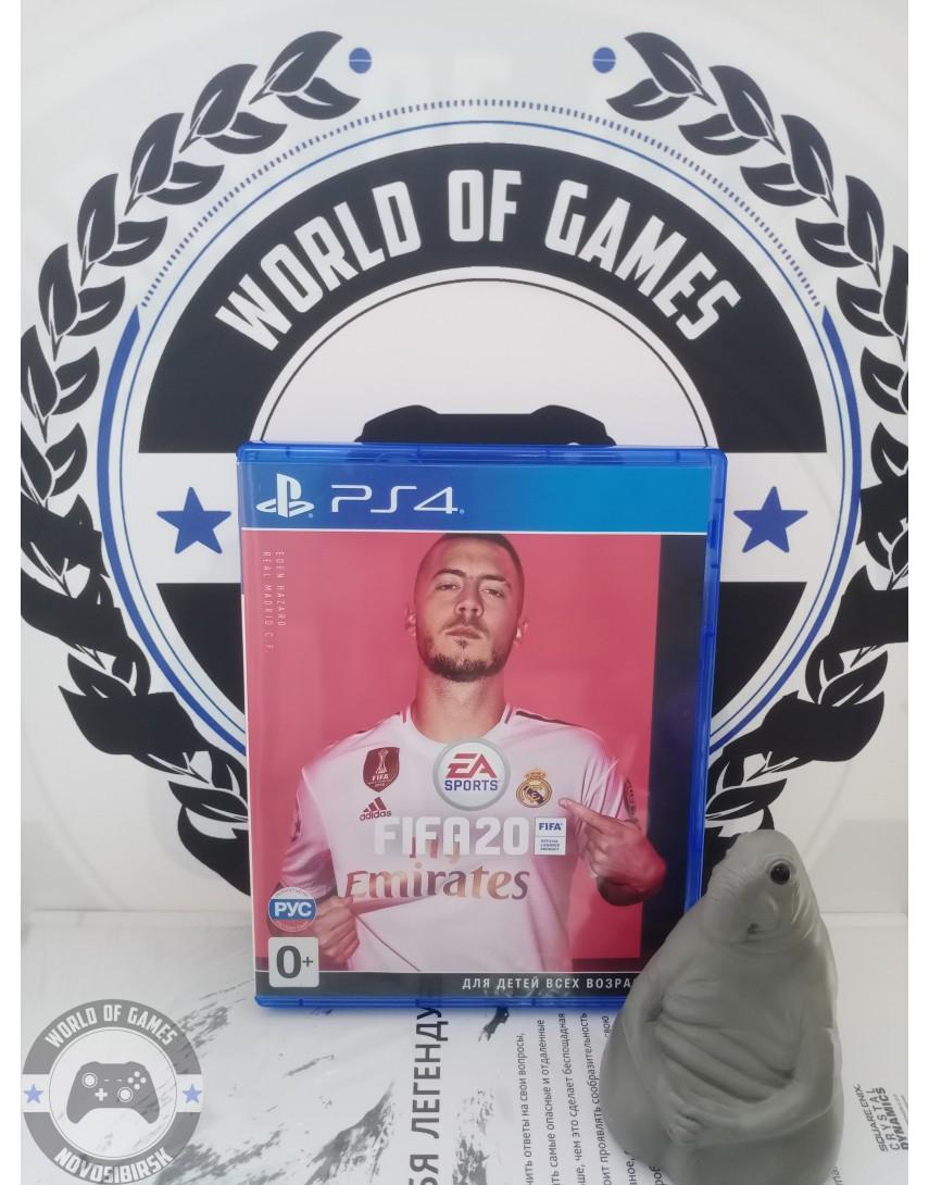 Купить FIFA 20 [PS4] в Новосибирске