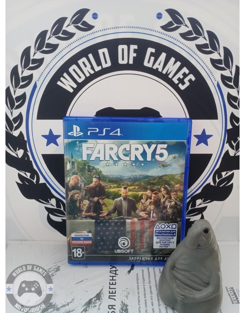Купить Far Cry 5 [PS4] в Новосибирске