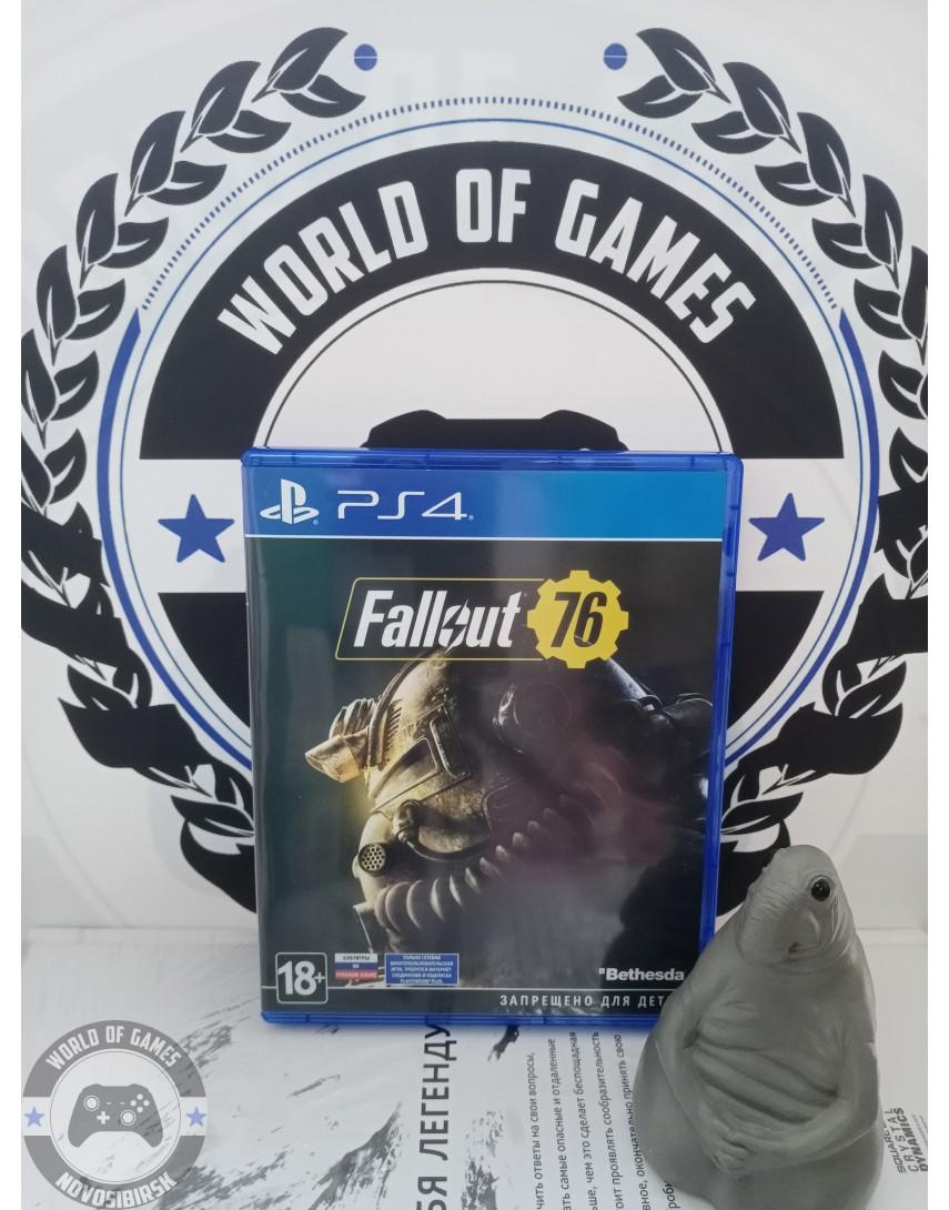 Купить Fallout 76 [PS4] в Новосибирске