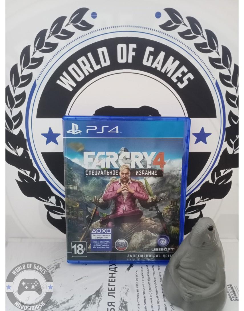 Купить Far Cry 4 [PS4] в Новосибирске