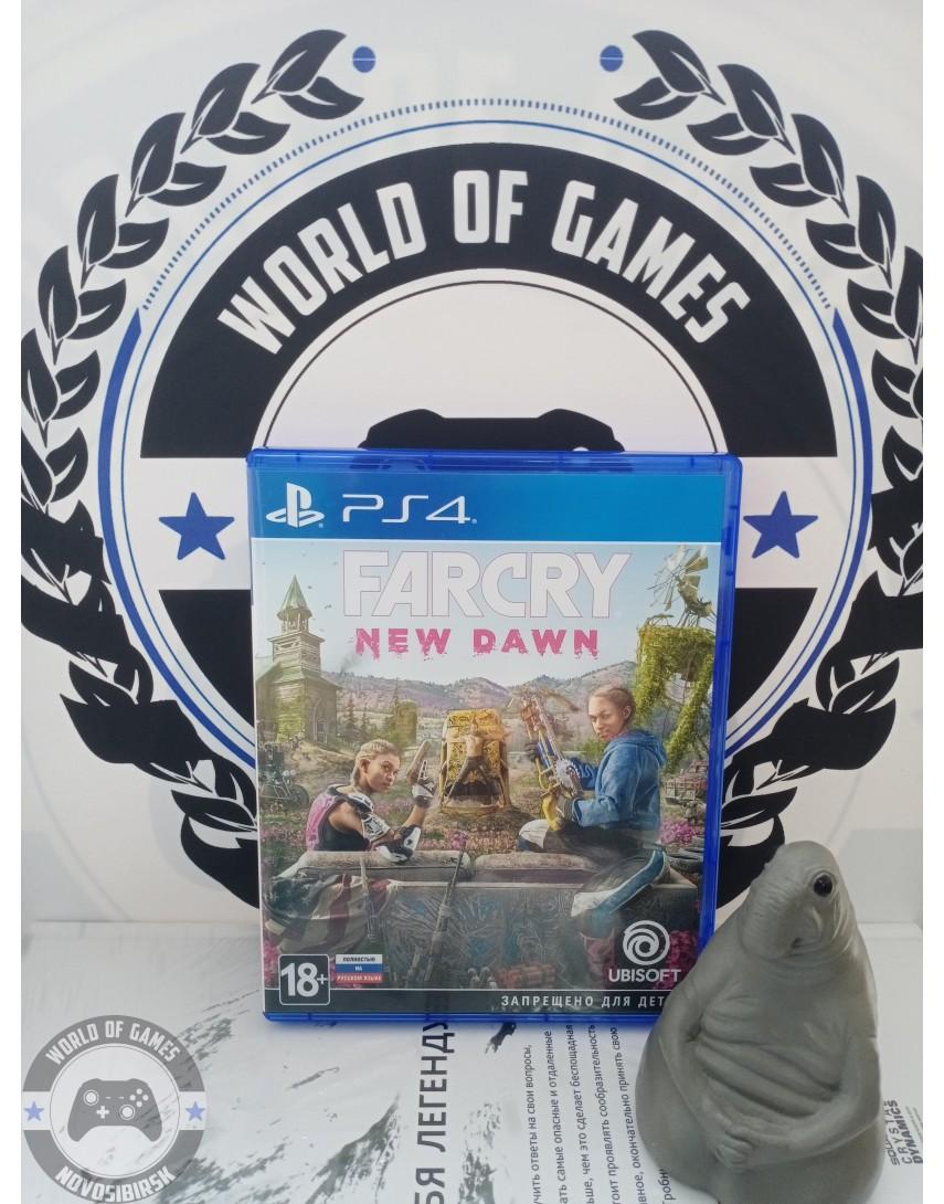 Купить Far Cry New Dawn [PS4] в Новосибирске
