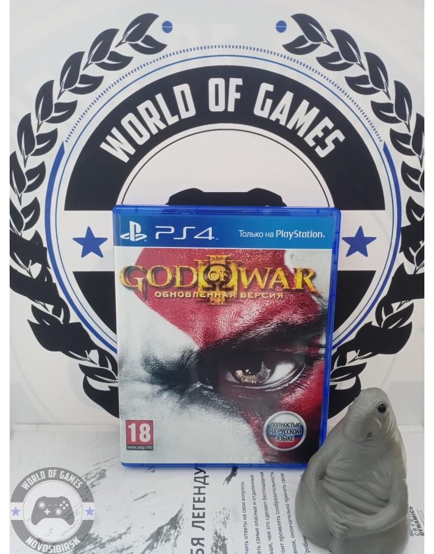 Купить God of War 3 Remastered [PS4] в Новосибирске