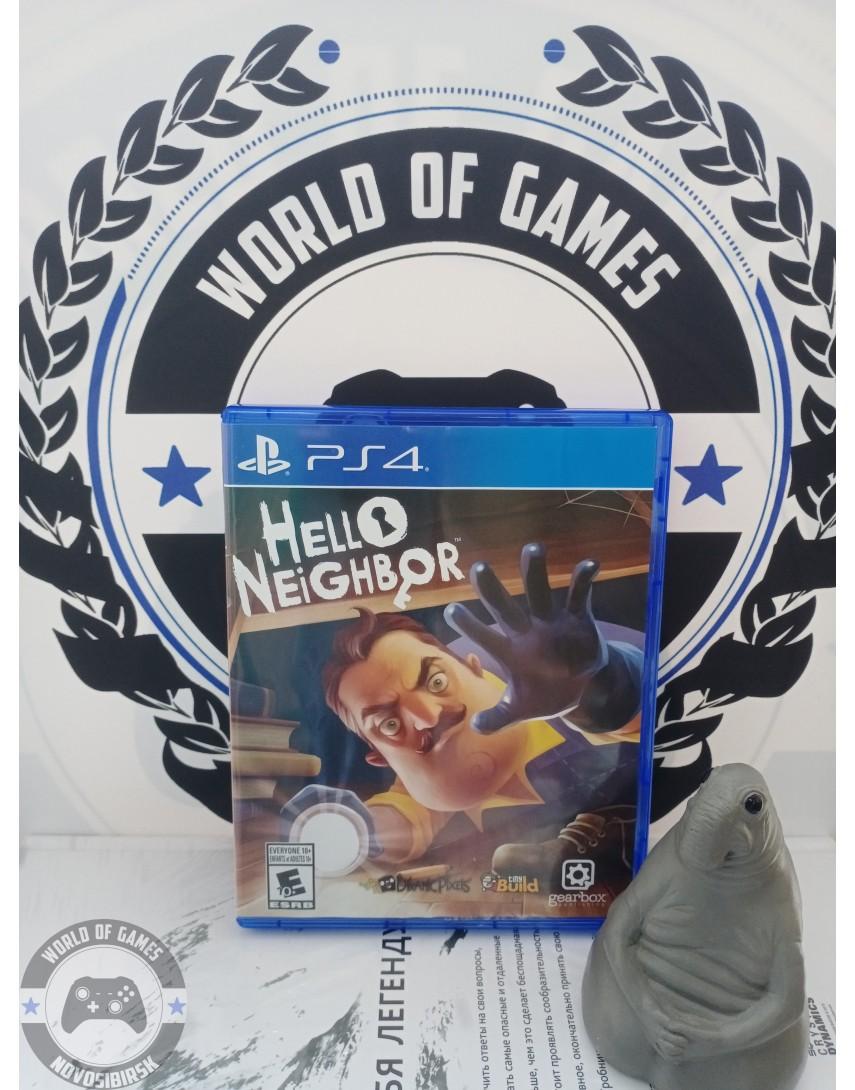 Купить Hello Neighbor [PS4] в Новосибирске