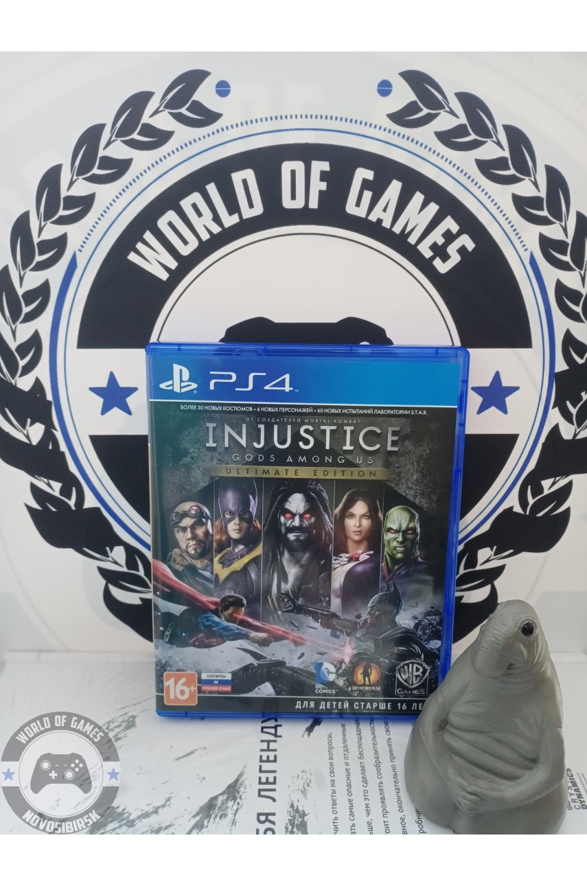 Injustice Gods Among Us [PS4]