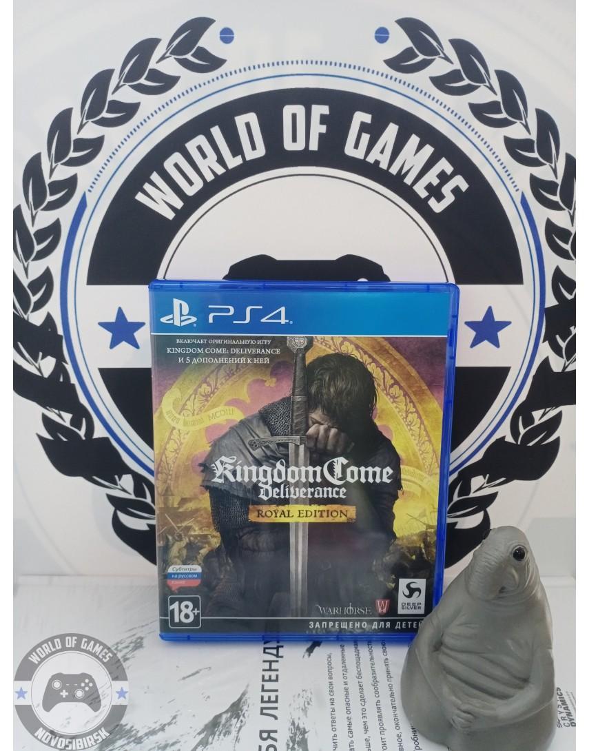 Купить Kingdom Come Deliverance Royal Edition [PS4] в Новосибирске
