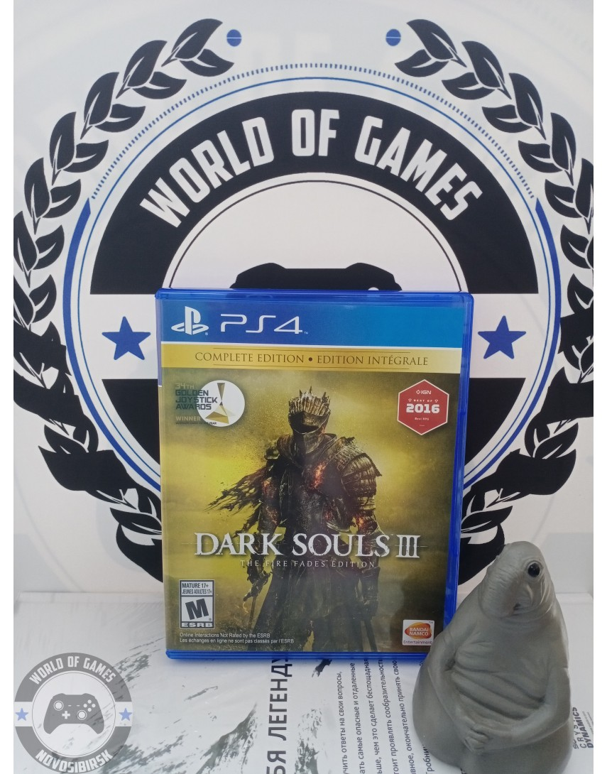 Dark Souls 3 The Fire Fades Edition [PS4]