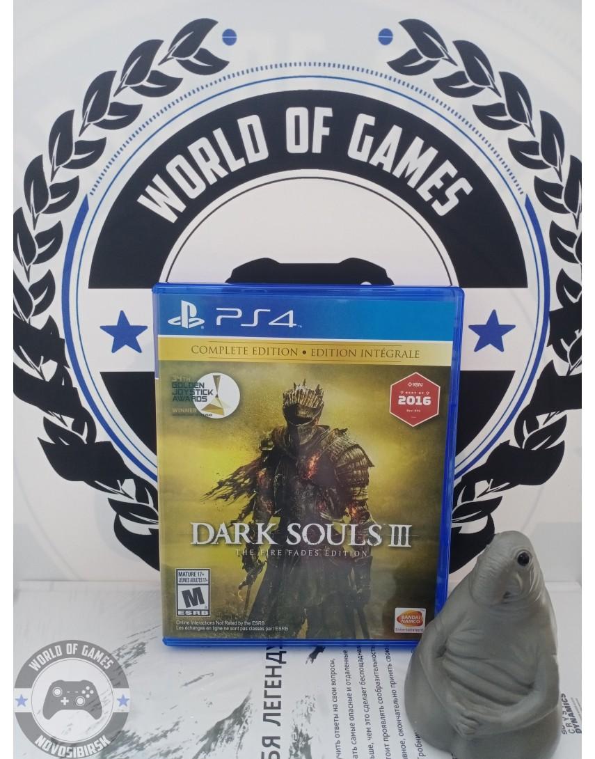 Купить Dark Souls 3 The Fire Fades Edition [PS4] в Новосибирске