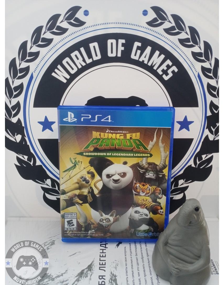 Купить Kung Fu Panda Showdown of Legendary Legends [PS4] в Новосибирске