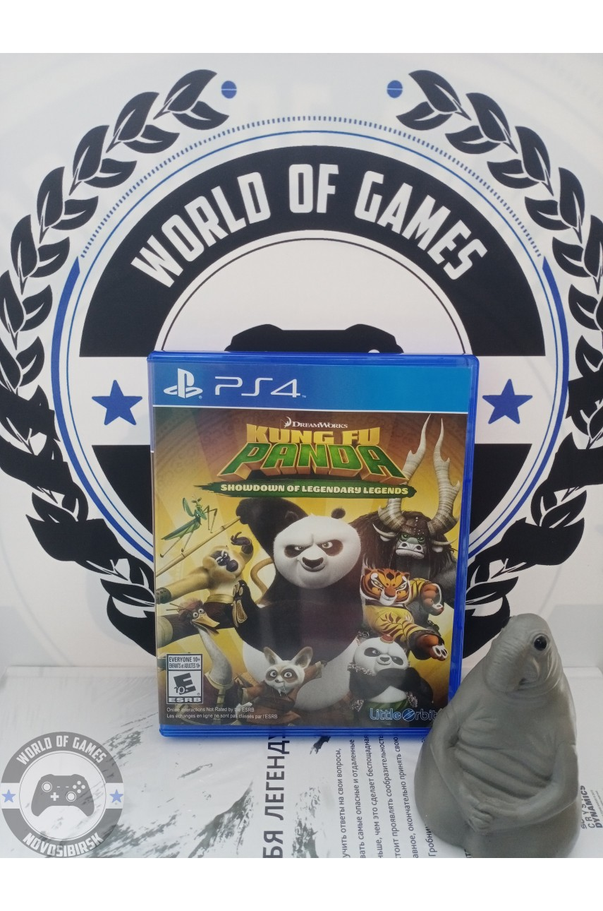 Kung Fu Panda Showdown of Legendary Legends [PS4]