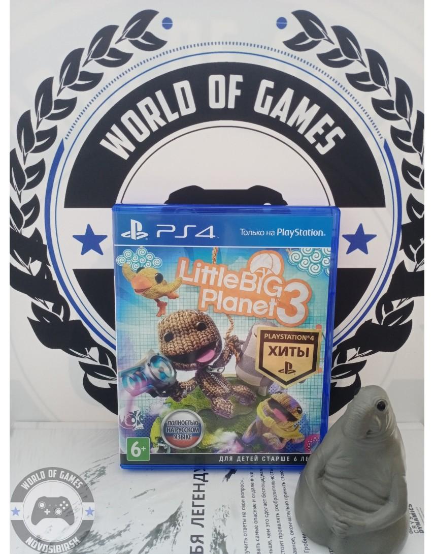 Купить LittleBigPlanet 3 [PS4] в Новосибирске