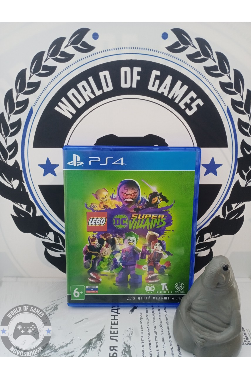 LEGO DC Super Villains [PS4]