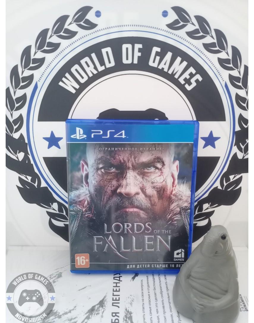 Купить Lords of the Fallen [PS4] в Новосибирске