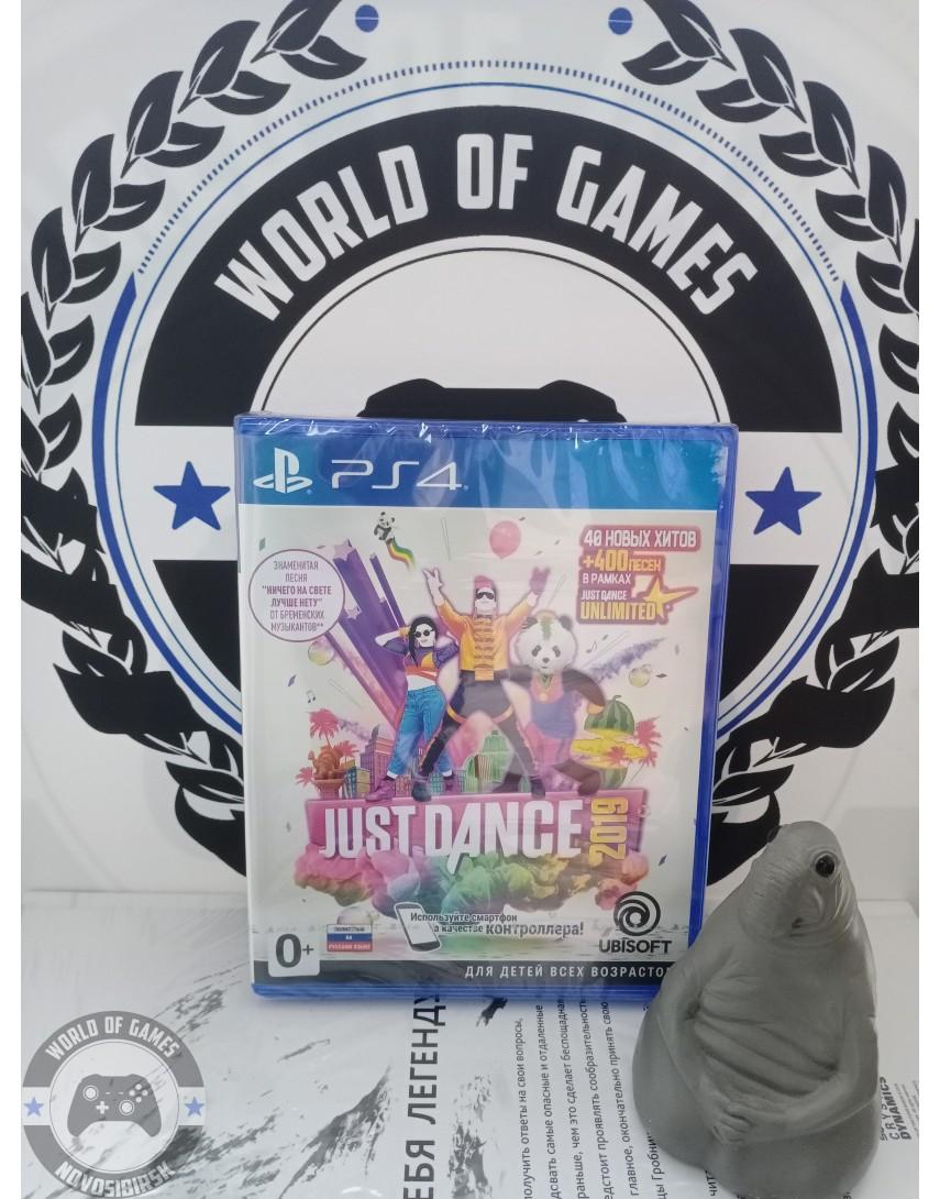 Купить Just Dance 2019 [PS4] в Новосибирске