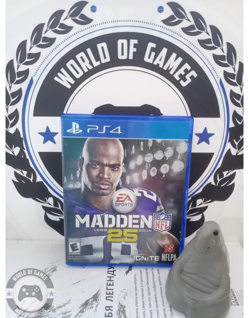 Купить Madden NFL 25 [PS4] в Новосибирске