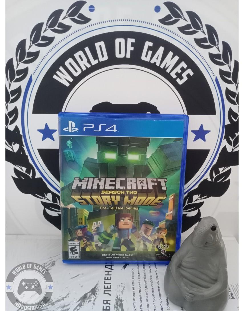 Купить Minecraft Story Mode Season 2 - A Telltale Games Series [PS4] в Новосибирске