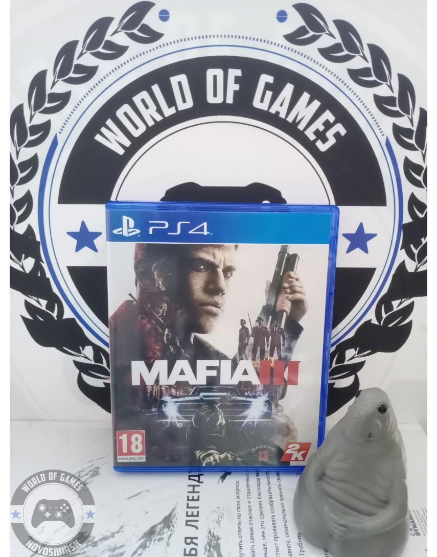 Купить Mafia 3 [PS4] в Новосибирске