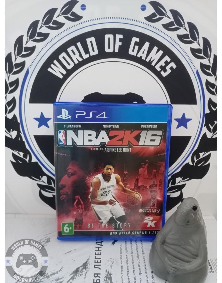 Купить NBA2K16 [PS4] в Новосибирске