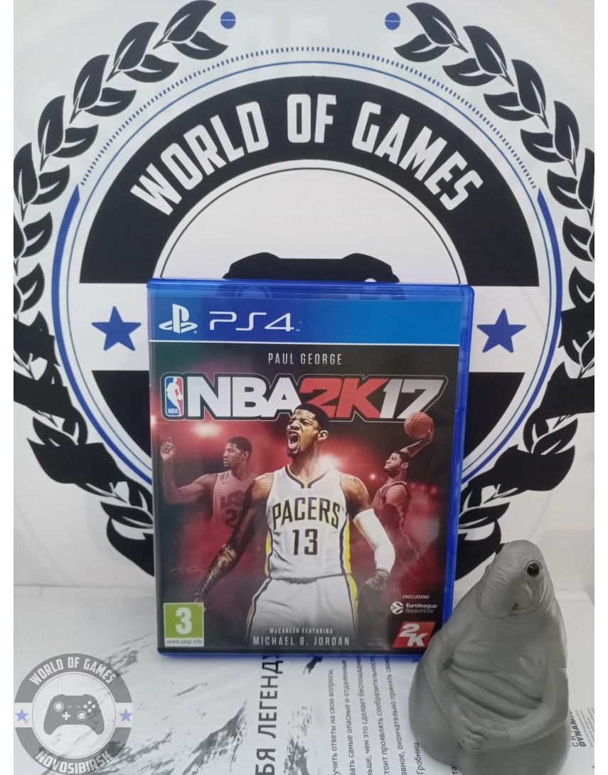 Купить NBA2K17 [PS4] в Новосибирске