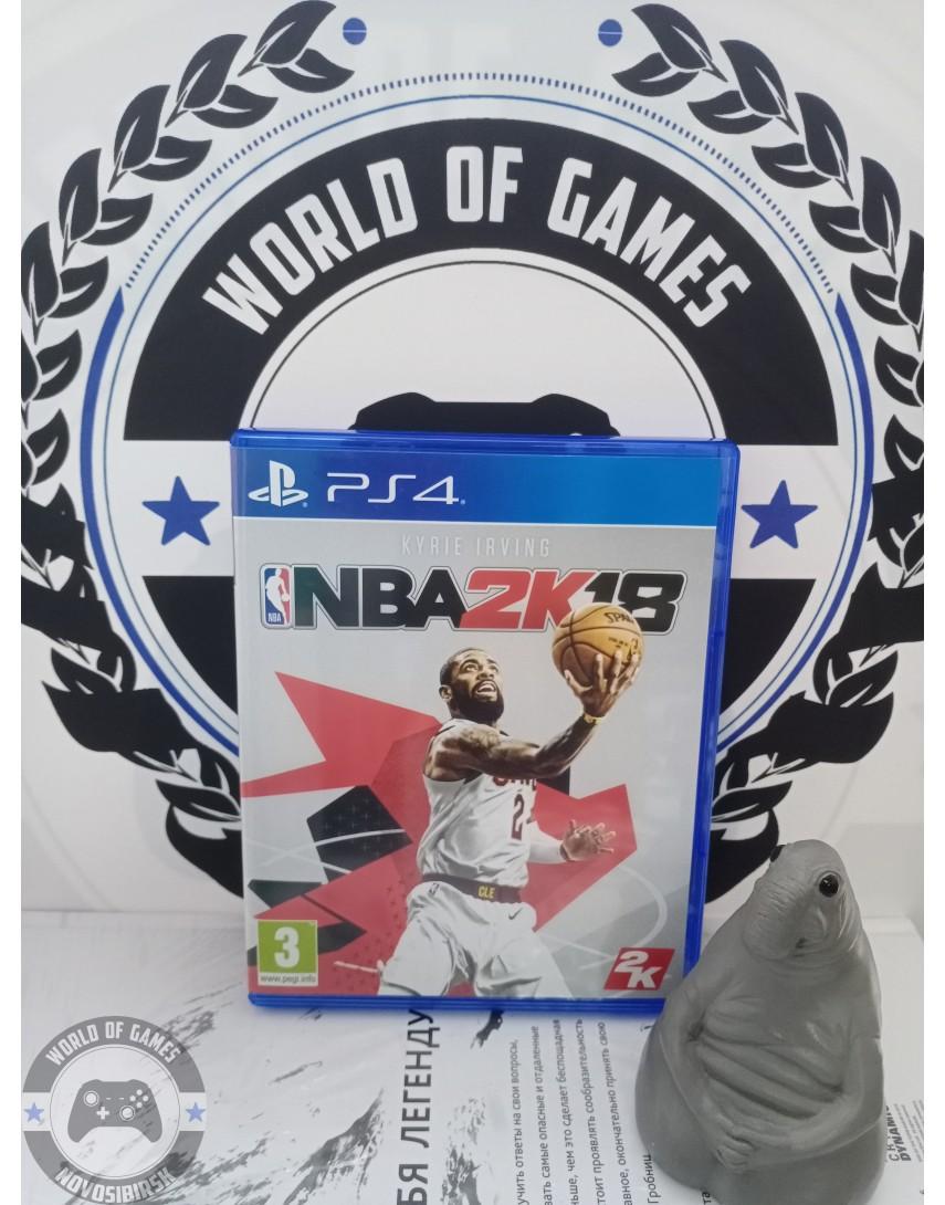 Купить NBA2K18 [PS4] в Новосибирске