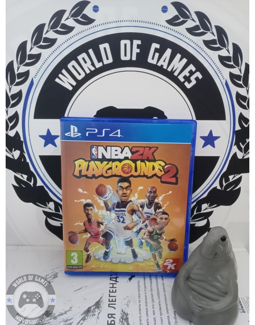 Купить NBA2k Playgrounds 2 [PS4] в Новосибирске
