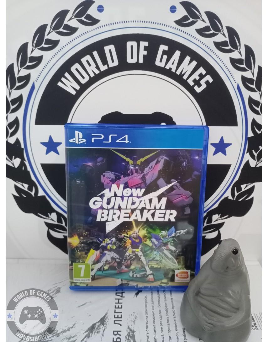 Купить New Gundam Breaker [PS4] в Новосибирске