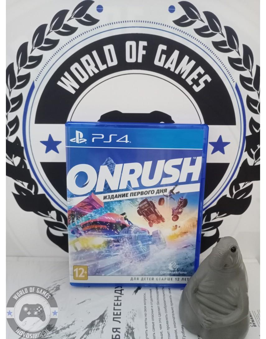 Купить Onrush [PS4] в Новосибирске