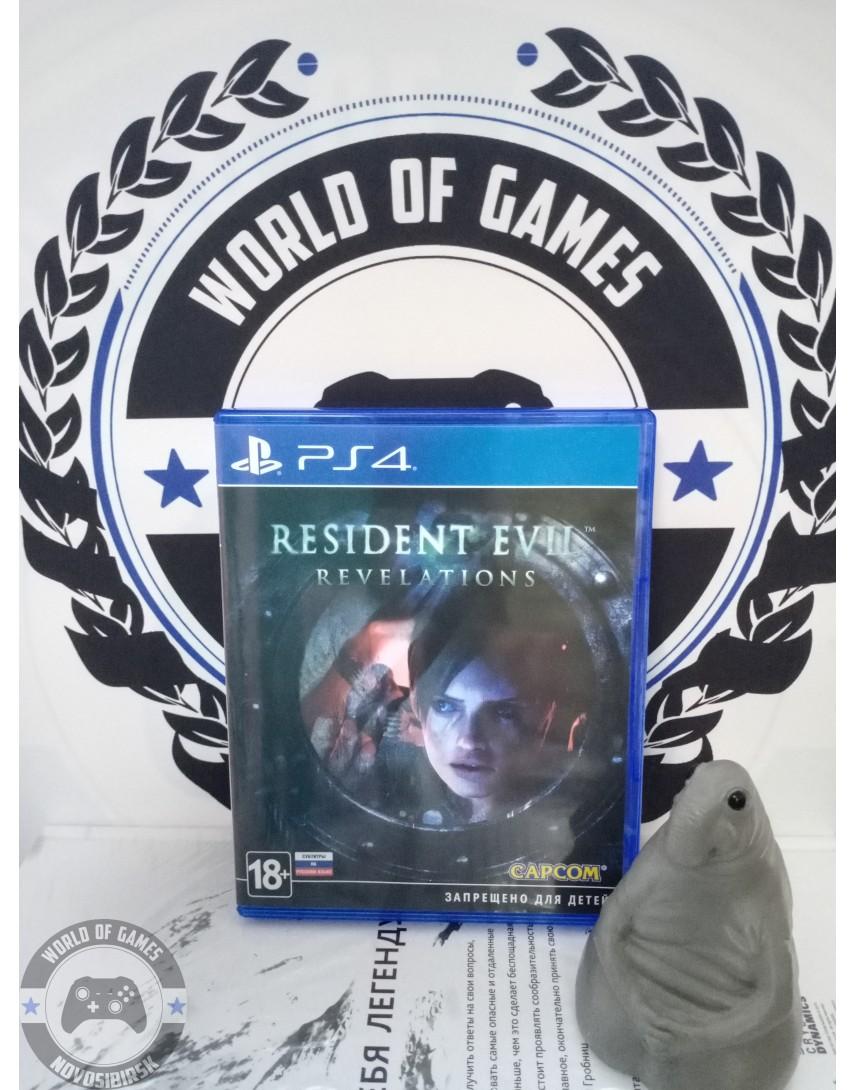 Купить Resident Evil Revelations [PS4] в Новосибирске
