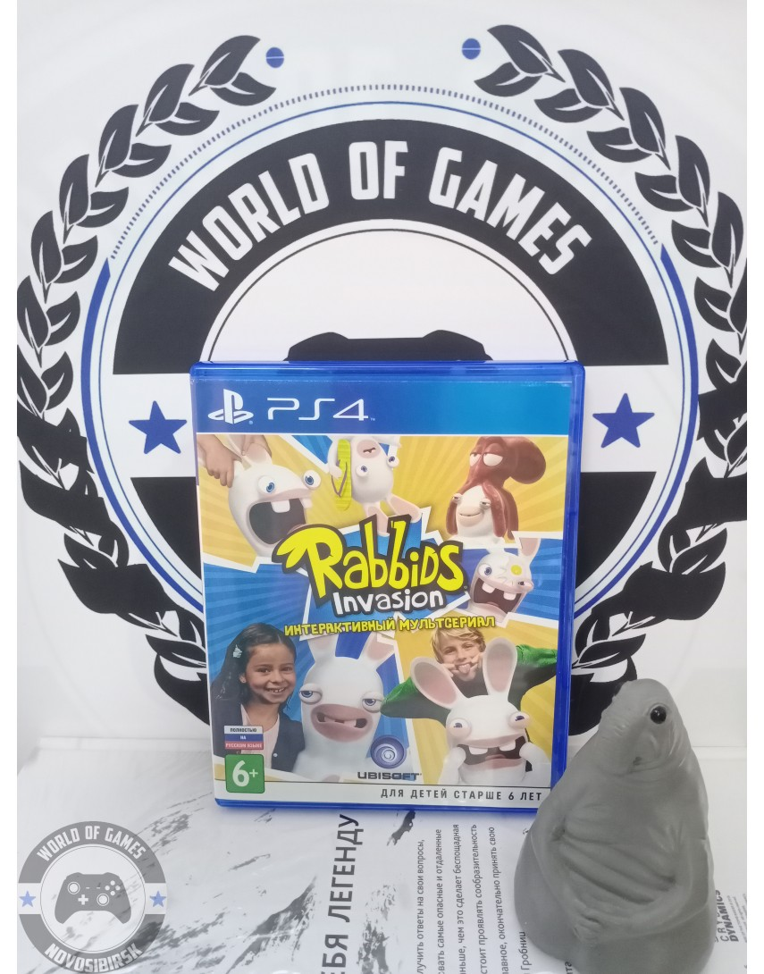Rabbids Invasion The Interactive TV Show [PS4]