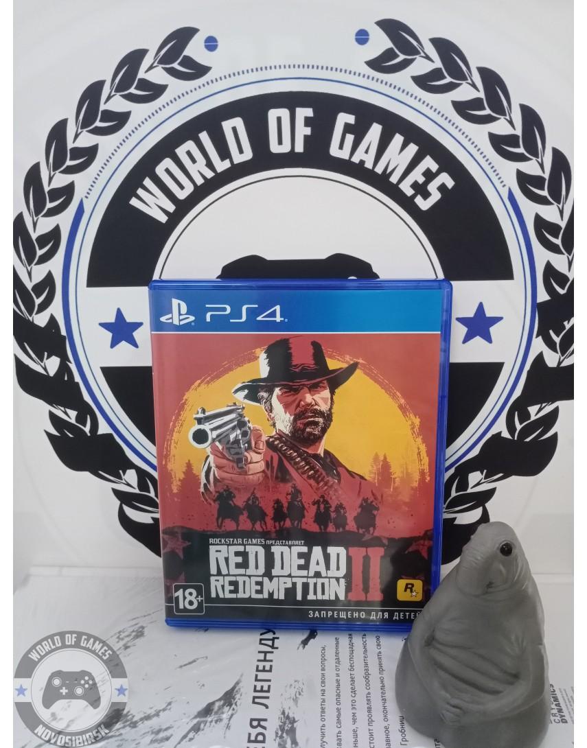 Купить Red Dead Redemption 2 [PS4] в Новосибирске