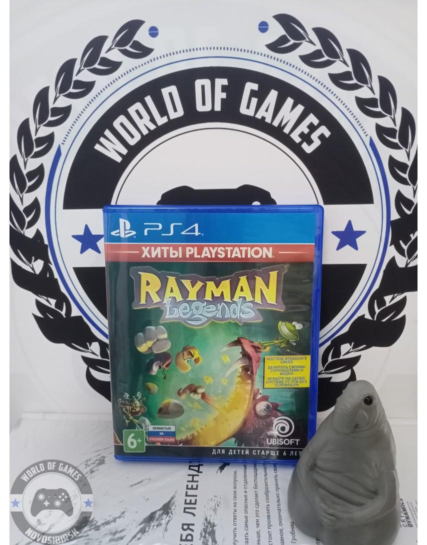 Купить Rayman Legends [PS4] в Новосибирске