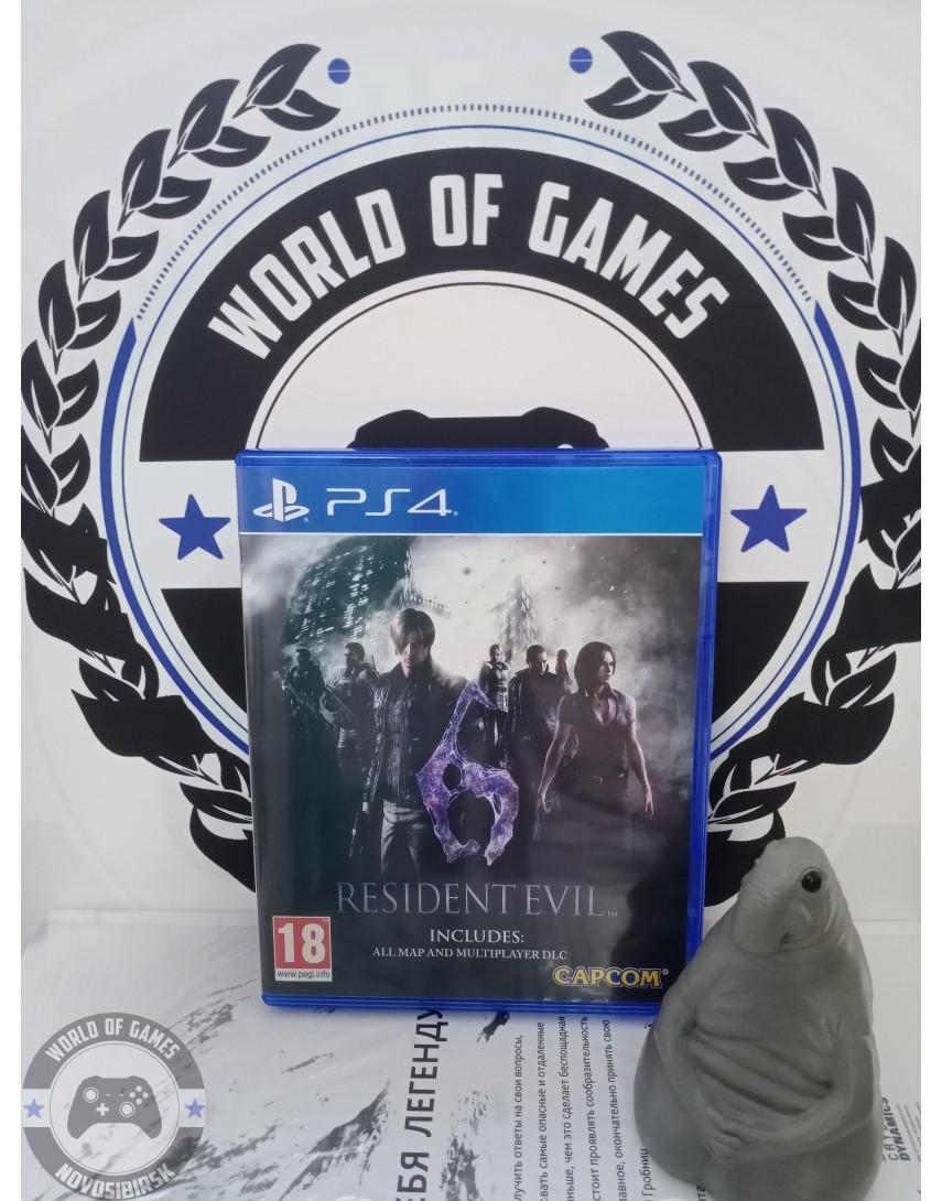 Купить Resident Evil 6 [PS4] в Новосибирске