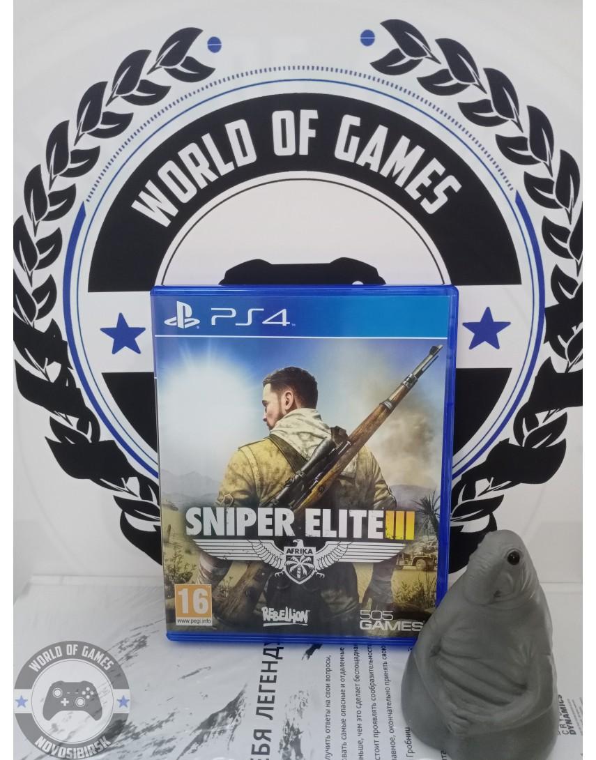 Купить Sniper Elite 3 [PS4] в Новосибирске
