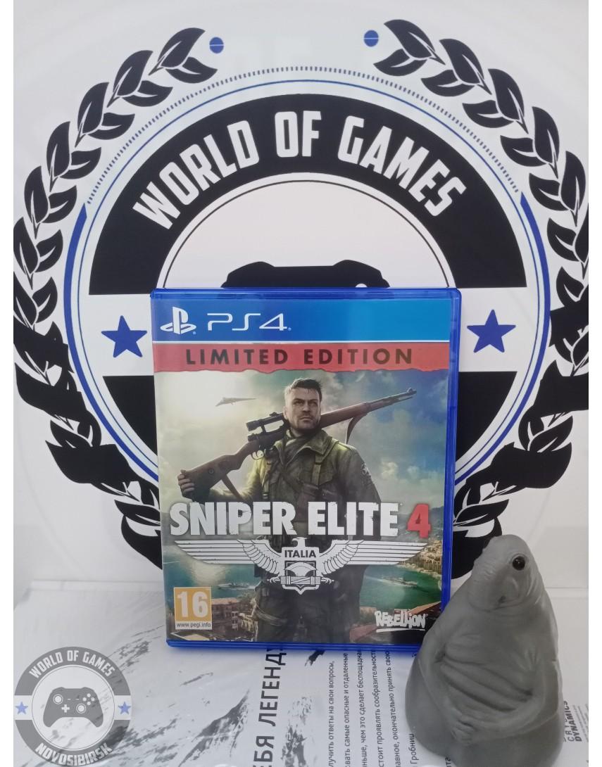 Купить Sniper Elite 4 [PS4] в Новосибирске