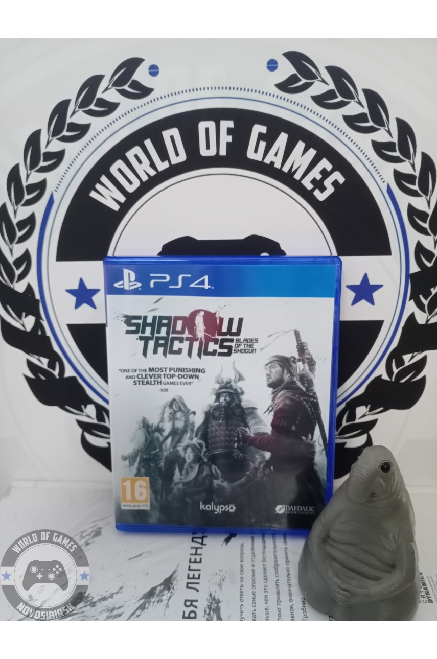 Shadow Tactics Blades of the Shogun [PS4]