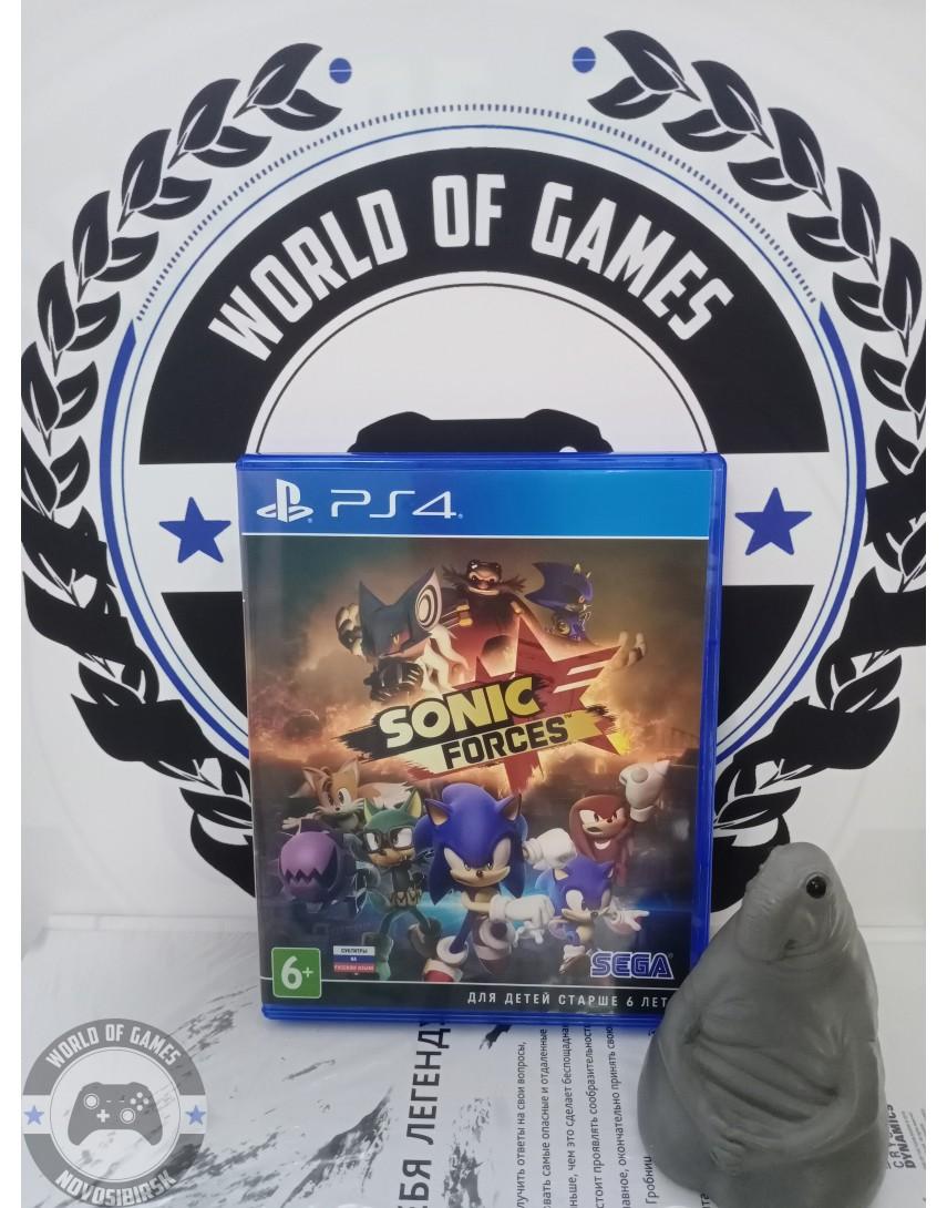 Купить Sonic Forces [PS4] в Новосибирске